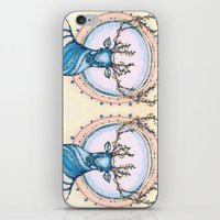 Blue Stag iPhone & iPod Skin