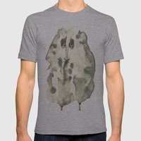Saddie Mens Fitted Tee Athletic Grey SMALL