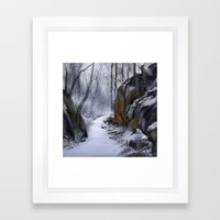 Conewago Trail Framed Art Print
