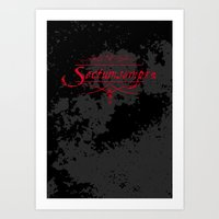 Harry Potter Curses: Sec… Art Print