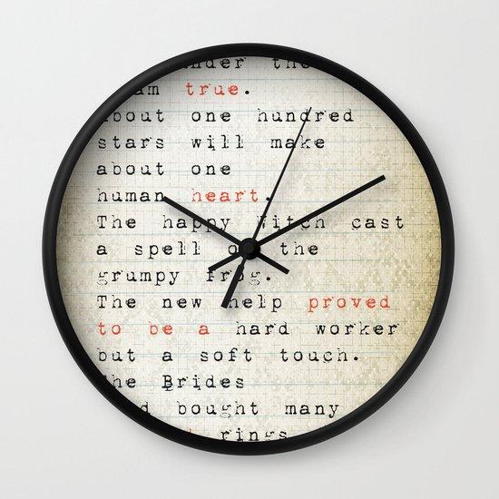 true Wall Clock