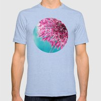 ALLIUM Mens Fitted Tee Tri-Blue SMALL