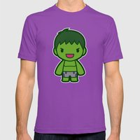 Big Guy Mens Fitted Tee Ultraviolet SMALL