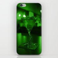 Martini Green iPhone & iPod Skin