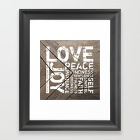 Against Such Things There Is No Law Framed Art Print