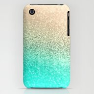 GOLD AQUA iPhone (3g, 3gs) Slim Case