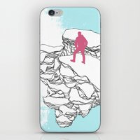 The Wanderer iPhone & iPod Skin