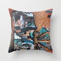Inside Murray  Throw Pillow