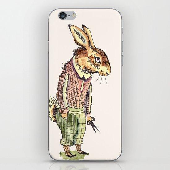Rabbits Garden iPhone & iPod Skin