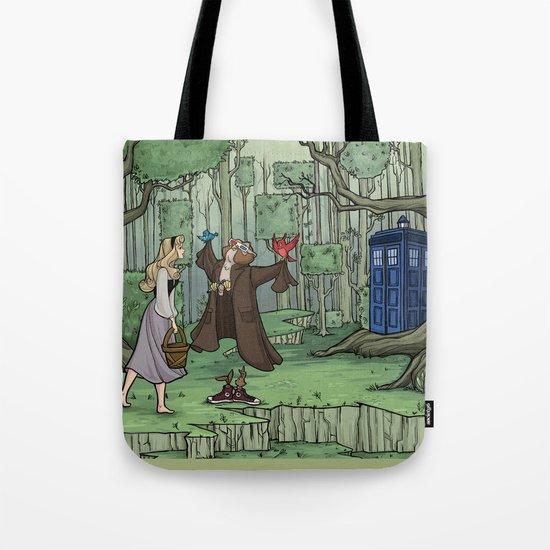 Visions are Seldom all They Seem Tote Bag