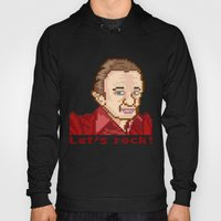 Let's rock! (Man From Another Place Pixel Art)  Hoody