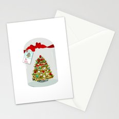 I'll Be Home For Christmas, Christmas Tree Globe Stationery Cards