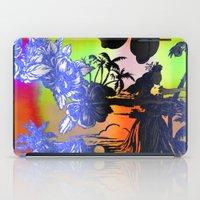 Hula Dyed iPad Case