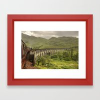 Glenfinian Viaduct  Framed Art Print