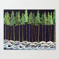 Natural Night Canvas Print