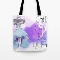 God Save McQueen Tote Bag