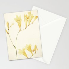 IV. Vintage Flowers Botanical Print by Pierre-Joseph Redouté - Sisyrinchium Collinum Stationery Cards