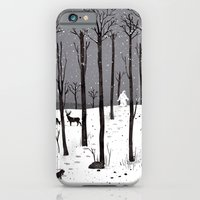 iPhone & iPod Case featuring Mister Yeti's Great Escape by Gelrev Ongbico