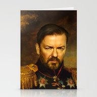 Ricky Gervais - Replacef… Stationery Cards