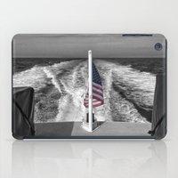 Salute B&W iPad Case
