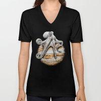 Celestial Cephalopod Unisex V-Neck