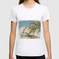 Carnival South Womens Fitted Tee Ash Grey SMALL