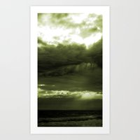 Layered Storm Art Print