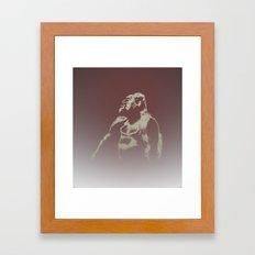 Gorilla Ghost Framed Art Print