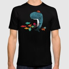 My Pet Fish Mens Fitted Tee Black SMALL