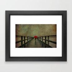 Where?? Framed Art Print