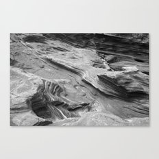 Lava Rocks at the Beach Canvas Print