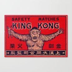 King Kong - Matchbox Canvas Print