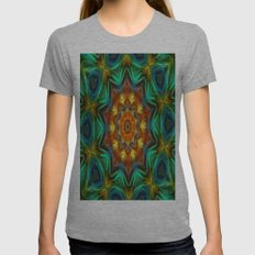 Mandala - Soul Live Womens Fitted Tee Athletic Grey SMALL