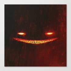 Smile (Red) Canvas Print