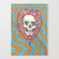 Skulladelia Canvas Print