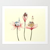 Pretty Little Things Art Print
