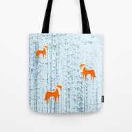 Fox Lost In The Woods #s… Tote Bag