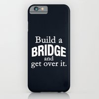 iPhone & iPod Case featuring Build a Bridge by Wis Marvin