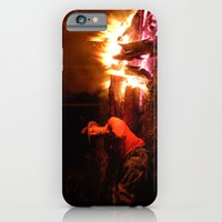snow fire iPhone 6 Slim Case