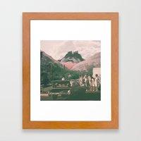 Photobomb! Framed Art Print