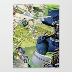 Over the Palace Canvas Print