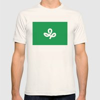 miyagi region flag japan prefecture Mens Fitted Tee Natural SMALL