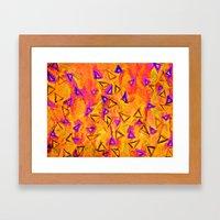 ANALOG Zine - TECHNO VIB… Framed Art Print