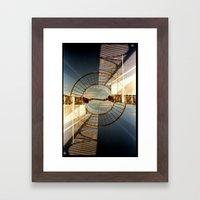 Landscapes c10 (35mm Double Exposure) Framed Art Print
