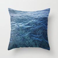 Florida Blues Throw Pillow