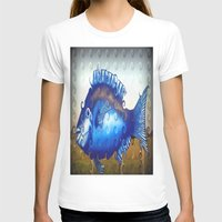 T-shirt featuring Blue Fish by Chris' Landscape Images & Designs