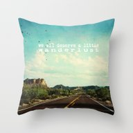 Throw Pillow featuring We All Deserve A Little … by Sylvia Cook Photogra…