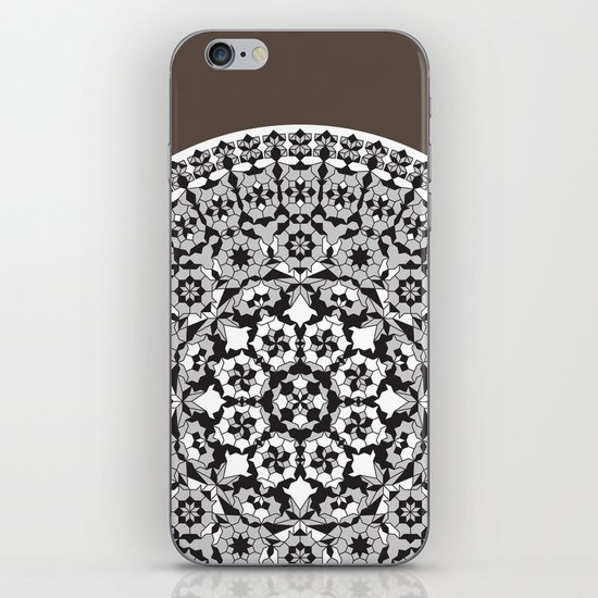 Khatem Rosette 005 | Coffee iPhone & iPod Skin