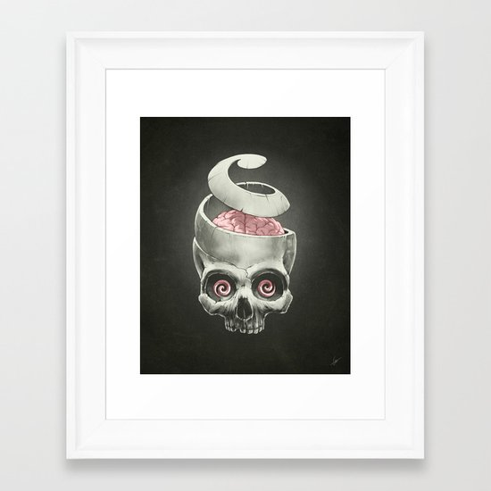 Open Your Mind! Framed Art Print