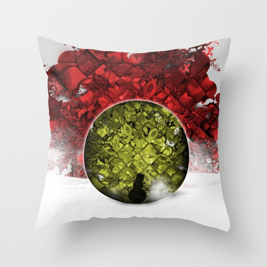 Christmas Spirit 3 of 4 Throw Pillow